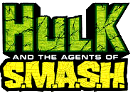 Hulk Agents of S.M.A.S.H. (2013) logo