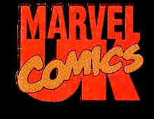 Marvel UK logo