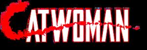 Catwoman (1989) DC logo