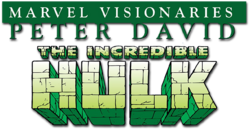 Hulk: Visionaries - Peter David (2015) logo