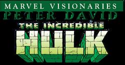Hulk: Visionaries - Peter David (2015) logo