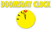Doomsday Clock (2018) logo
