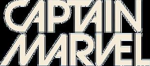 Captain Marvel vol 9 logo