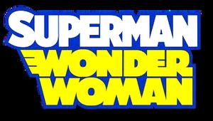 SuperMan Wonder Woman (2013) logo
