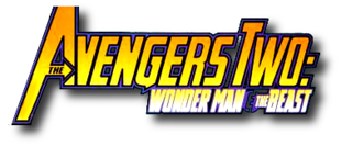 Avengers Two: Wonder Man and Beast (2000) logo