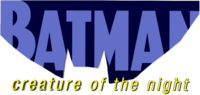 Batman - Creature of the Night (2017) logo