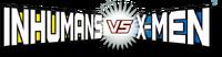 Inhumans vc X-Men (2016) logo