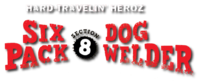 Sixpack and Dogwelder- Hard Travelin' Heroz (2016) DC Comics logo2