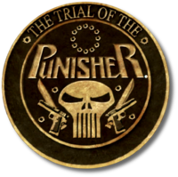 Punisher Trial of the Punisher (2013) logo