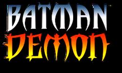 Batman Demon (1996) logo