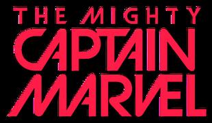 The Mighty Captain Marvel (2016) logo