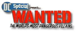 DC Special (1968) Wanted logo