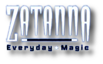 Zatanna Everyday Magic (2003) Logo
