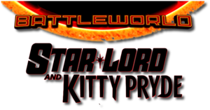 Battleworld Star-Lord and Kitty Pryde (2015) logo