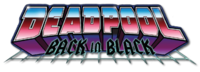 Deadpool Back in Black (2016) logo1