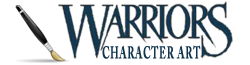 WarriorsCharArt Wiki-wordmark