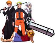 Luffy-Naruto-Allen-Ichigo