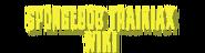 SpongeBob Trainiax Wiki Wordmark Version One
