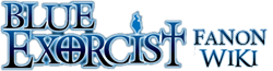Blue-Exorcist Fanon Wiki-wordmark