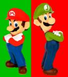 Mario and Luigi Logo