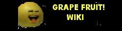 Grape fruit Logo
