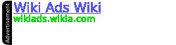 Wiki Ads Wiki Wordmark