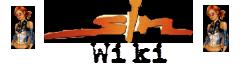 Sin wiki wordmark