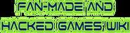 Fan-made&hackedgames wordmark