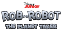 Rob the Robot The Planet Taker logo