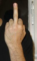 Givingthefinger