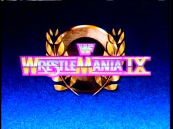 2051 - logo wrestlemania wwf