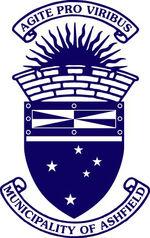 Ash logo blue