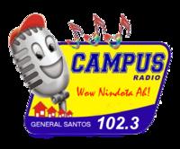 Campus Radio 102.3 Gensan Logo 2007