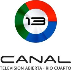 Canal 13 Río Cuarto (Logo Vertical - 2014)