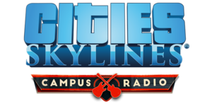 Cities Skylines - Campus Radio Logo