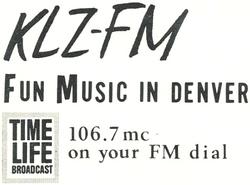 KLZ Denver 1965