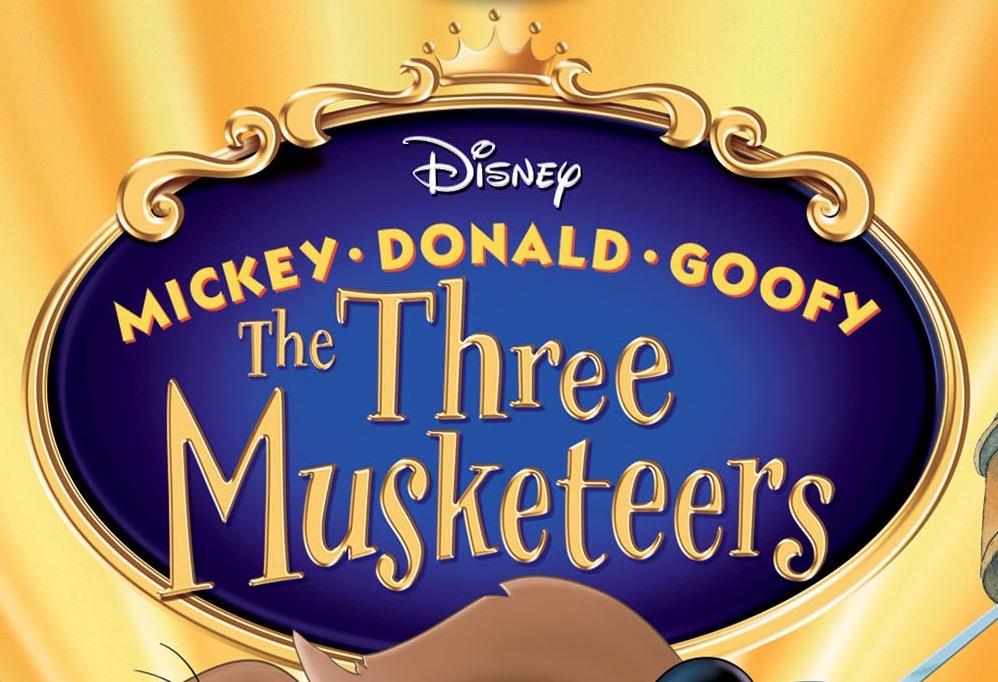 mickey donald goofy the three musketeers full movie 2004