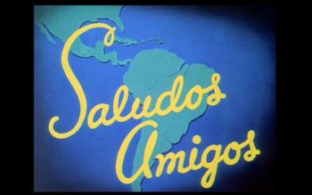 Saludos Amigos Logo 1942