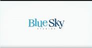 The peanuts movie blue sky