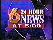 WBRC-TV's Channel 6 News at 5 video promo from 1993-1994