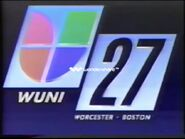 Wuni univision 27 id early 90s