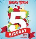 AngryBirdsBirdday5Logo