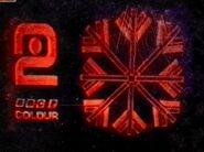 BBC2 Christmas ident 1967