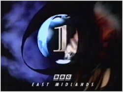 BBC 1 1991 East Midlands