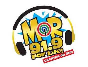 MOR 91.9 Cagayan De Oro new logo
