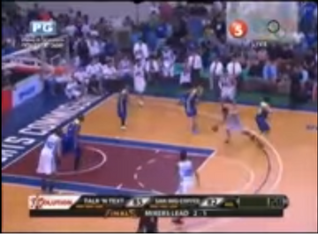 PBA on TV5 scorebug 2013 2014 2