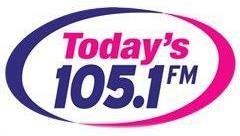 Today's 105.1 logo