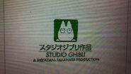 "On Crash Bandicoot and the Thievius Raccoonus, the green capital letters on ""A Miyazaki-Takahata Production"""