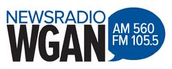 WGAN 560 AM 105.5 FM
