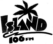 WILN - Island 106 -Launch Ad, November 1, 1987-